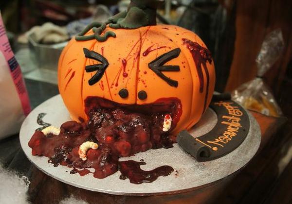 Halloween k rbis schnitzen coole ideen - Tischdeko halloween ...