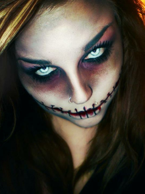Halloween-Makeup-Ideen-Halloween-Party