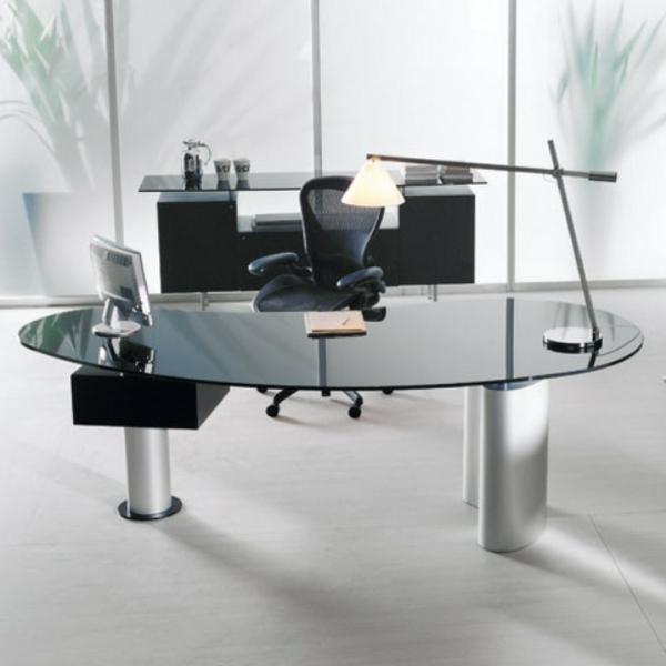 Heimbüro-Einrichtung-Schreibtisch-aus-Glas-