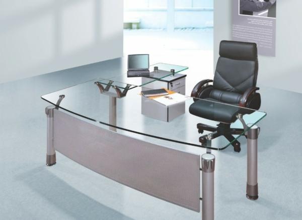 Heimbüro-mit-einem-Schreibtisch-aus-Glas-