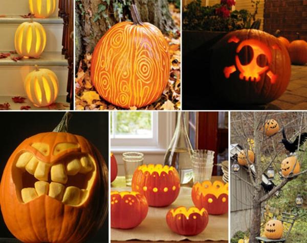 Halloween k rbis schnitzen coole ideen - Halloween ideen ...