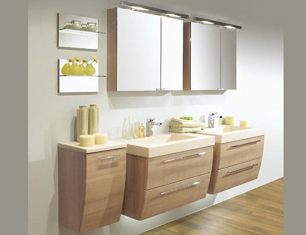 badezimmer spiegelschrank mit beleuchtung sch ne ideen. Black Bedroom Furniture Sets. Home Design Ideas