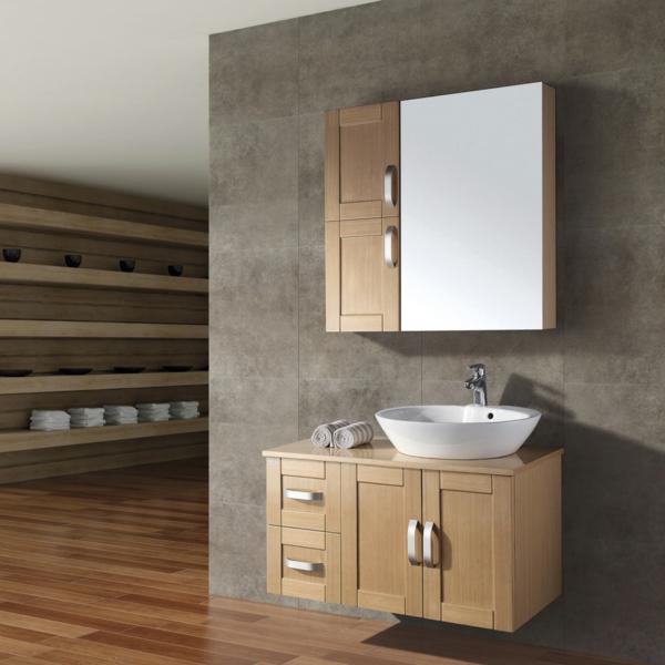 Interior-Design-Idee-Hängeschrank-Badezimmer-Holzmöbel