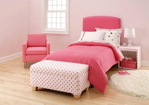 Kinder-rosa-Schlafzimmer