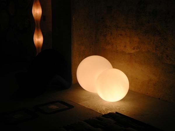 Kugellampe LED Bodenleuchten Idee