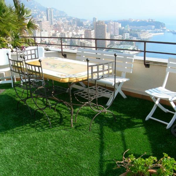 Kunstrasen auf dem balkon: gebrauchter kunstrasen garten terasse ...