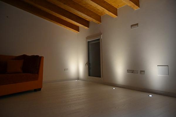 Led-Bodenleuchten-Innendesign-Wohnzimmer