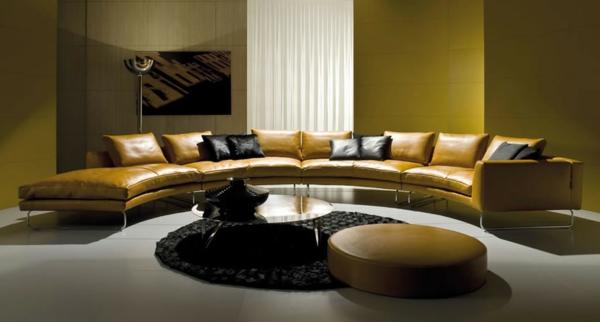 Wundersch ne vorschl ge f r ein halbrundes sofa for Sofa orientalischer stil