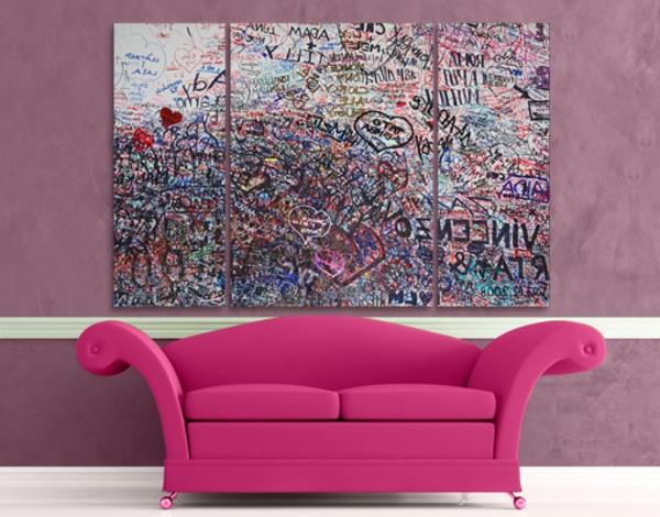 Leinwandbilder Fur Eine Kreative Wohngestaltung Archzine Net