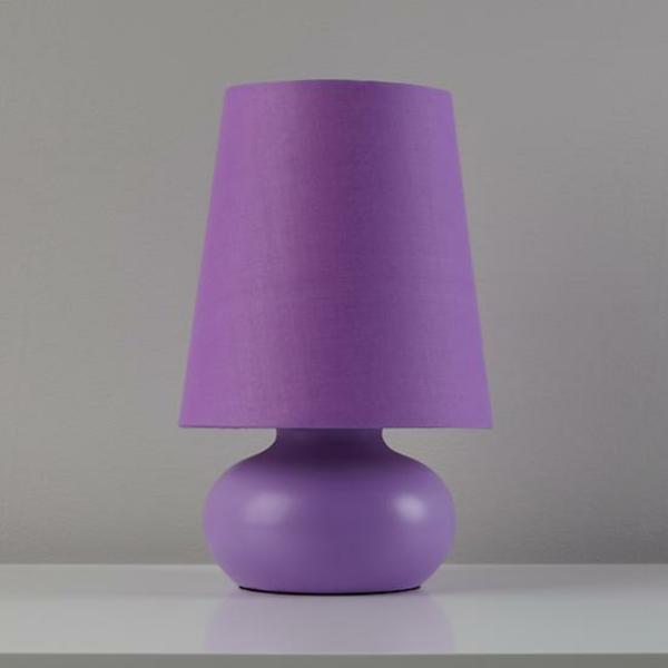 Lila-farbige-Tischlampen-Ideen-für-Design