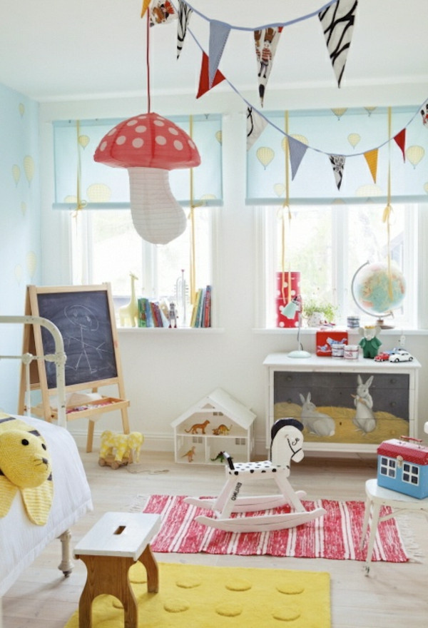 lampe f r kinderzimmer wundersch ne modelle. Black Bedroom Furniture Sets. Home Design Ideas