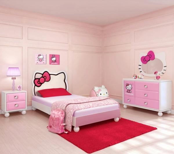 schlafzimmer ideen pink