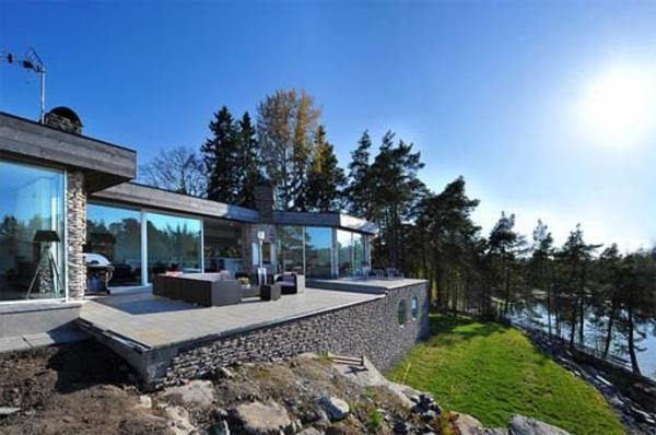 Scandinavische-Villa-in-Schweden-Architektur