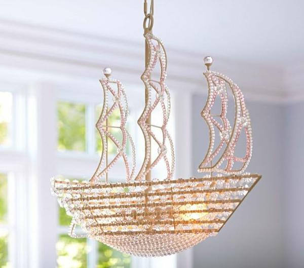 Schiff-Deckenlampen -Kinderzimmer-Ideen