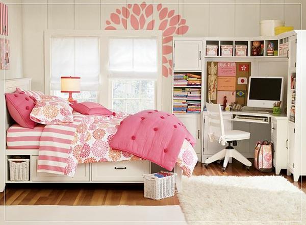 -Schlafzimmer-in-Rosa-