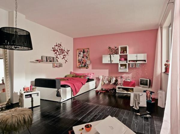 Schlafzimmer-in-Rosa-moderne-Gestaltung