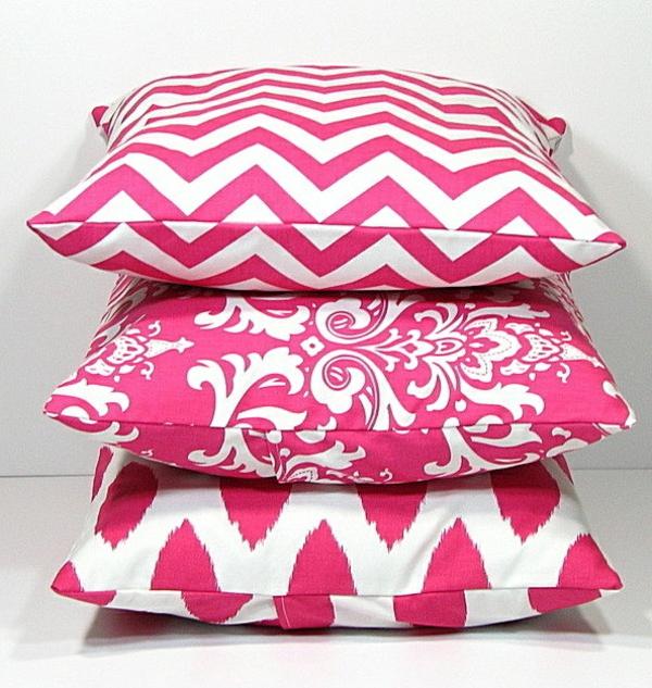 Schlafzimmer-in-Rosa-rosa-.Kissen