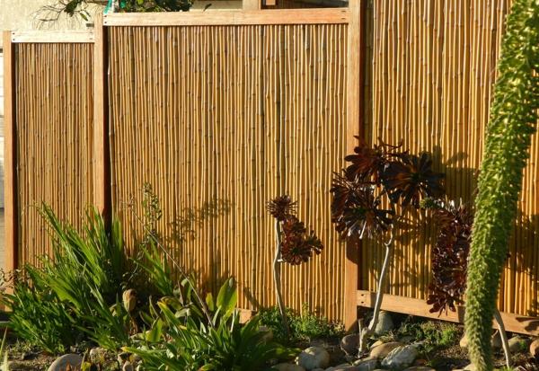 Bambus sichtschutz sch n und ko freundlich - Garten paravent bambus ...