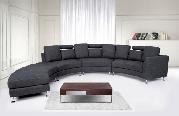 sofa halbrund bestseller shop f r m bel und einrichtungen. Black Bedroom Furniture Sets. Home Design Ideas