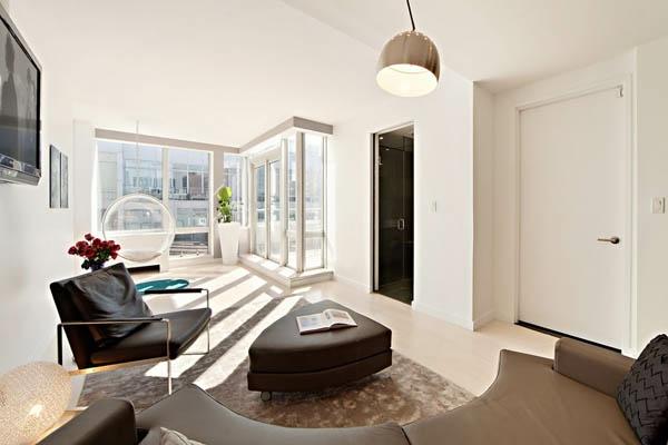 Penthouse in New York - erstaunliche Fotos! - Archzine.net