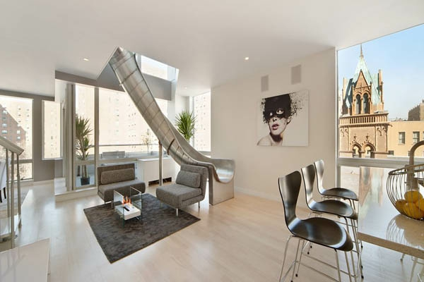 Penthouse in new york erstaunliche fotos - Luxus jugendzimmer ...