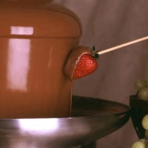 Schokoladenbrunnen - eine schmackhafte Idee!