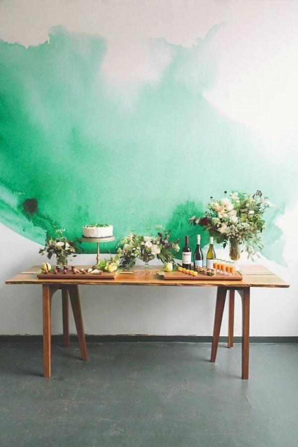 Wandgestaltung-Grün-coole-Idee