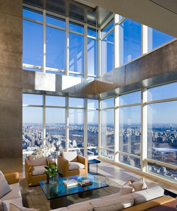 penthouse in new york erstaunliche fotos. Black Bedroom Furniture Sets. Home Design Ideas