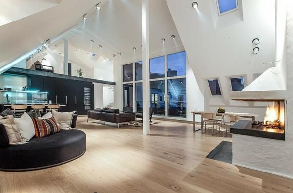 Penthousewohnung 64 faszinierende fotos for Bilder moderne wohnung design