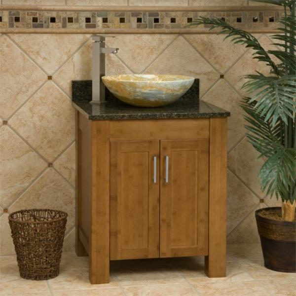 waschbeckenunterschrank aus bambus! ~ Waschbeckenunterschrank Bambus