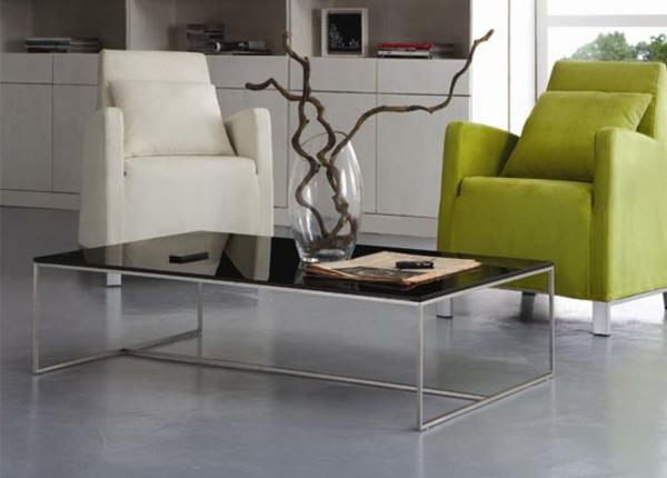 Wohnzimmer-Glas-Beistelltische-