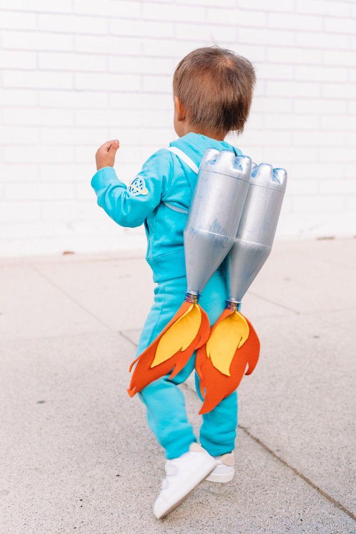 astronauten verkleidung einfache halloween kostüme selber machen diy schritt für schritt anleitung originelle ideen
