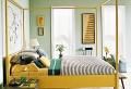 Gelbe Farbgestaltung im Schlafzimmer – 24  Fotos!