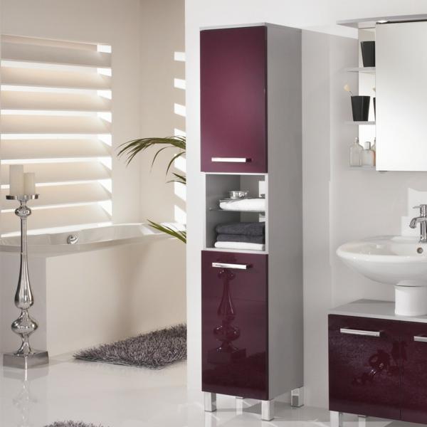 badezimmer-hochschrank-hochglanz-aubergine-silber-