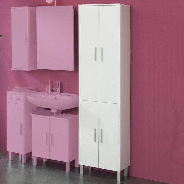 badezimmer rosa grau. Black Bedroom Furniture Sets. Home Design Ideas