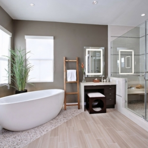 Modernes Badezimmer - inspirierende Fotos!