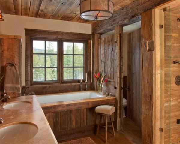 badmobel im landhaus stil bilder - Rustikale Einrichtungsideen