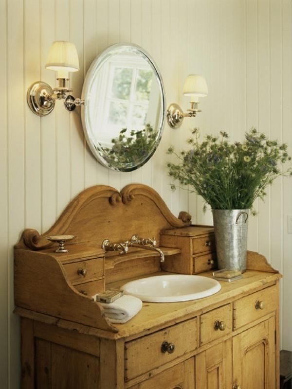badmöbel-im-landhaus-stil-runder-spiegel