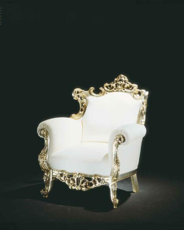 37 coole modelle vom barock sessel. Black Bedroom Furniture Sets. Home Design Ideas