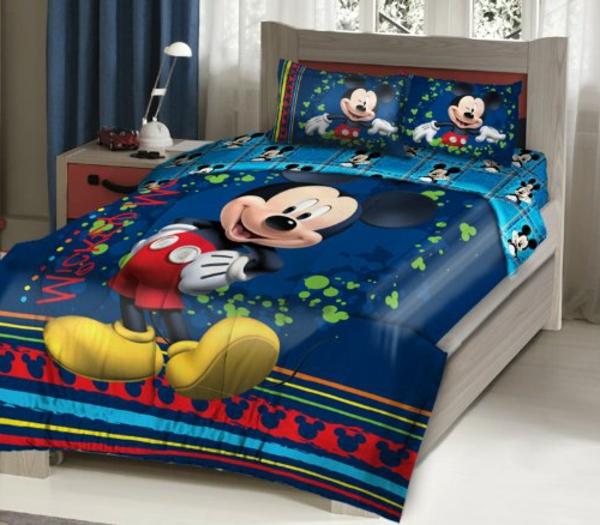 blaue--Bettwäsche-Mickey-Mouse-