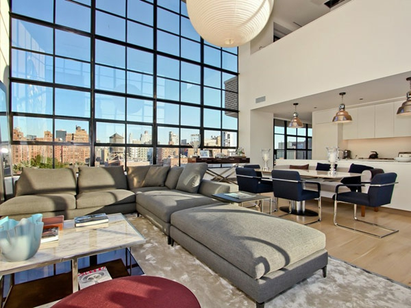contemporäre-penthouse-New-York-City