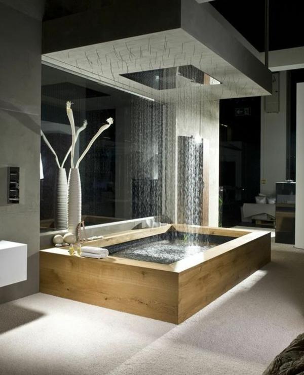 Modernes badezimmer inspirierende fotos - Ideen badezimmergestaltung ...