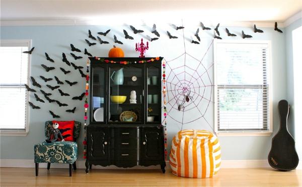 Tolle  Halloween Dekoration Selber Basteln