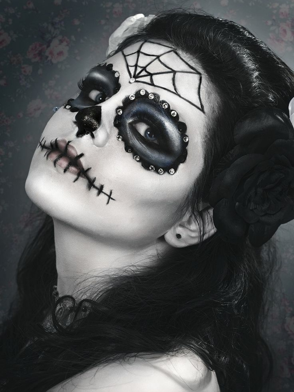 super-coole-Halloween-Makeup-Idee