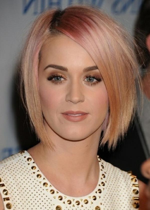 coole-moderne-Frisuren-für-Frauen-Katy Perry