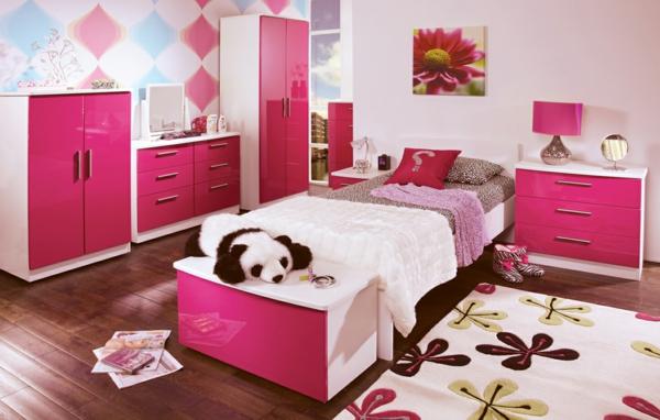 cooles-Kinderzimmer-rosa-Schlafzimmer