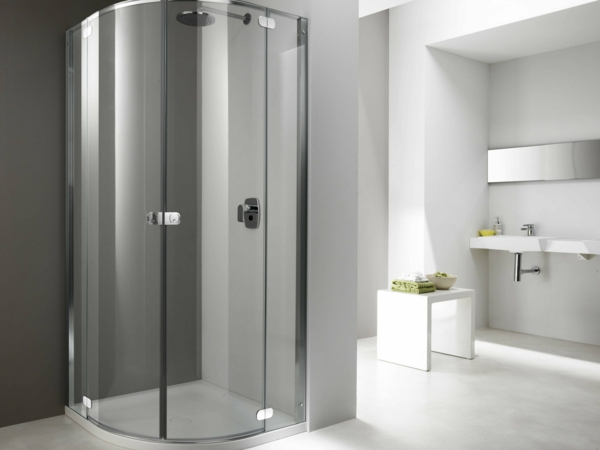 moderne duschkabine f r das badezimmer. Black Bedroom Furniture Sets. Home Design Ideas