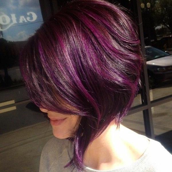 Kurze Frisuren Mit Farbe Moderne Frisuren