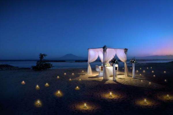 Schlafzimmer romantisch kerzen  45 romantische Ideen - Schönheit am Strand! - Archzine.net