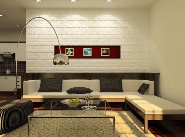 30 Fotos Von Origineller Wohnzimmer U2013 Wandgestaltung!